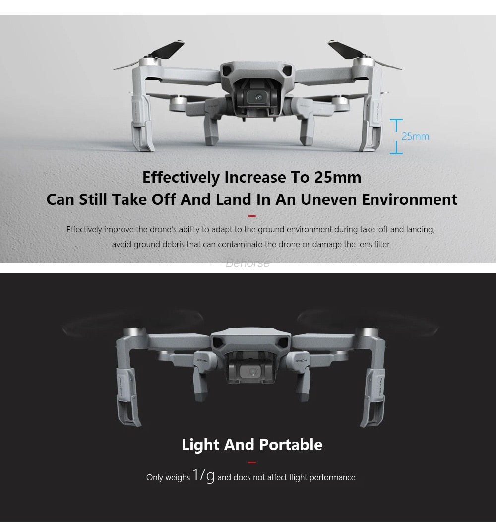 Mini Landing Gear Extensions Leg Support Protector Extensions for DJI Mavic Mini Drone Accessories