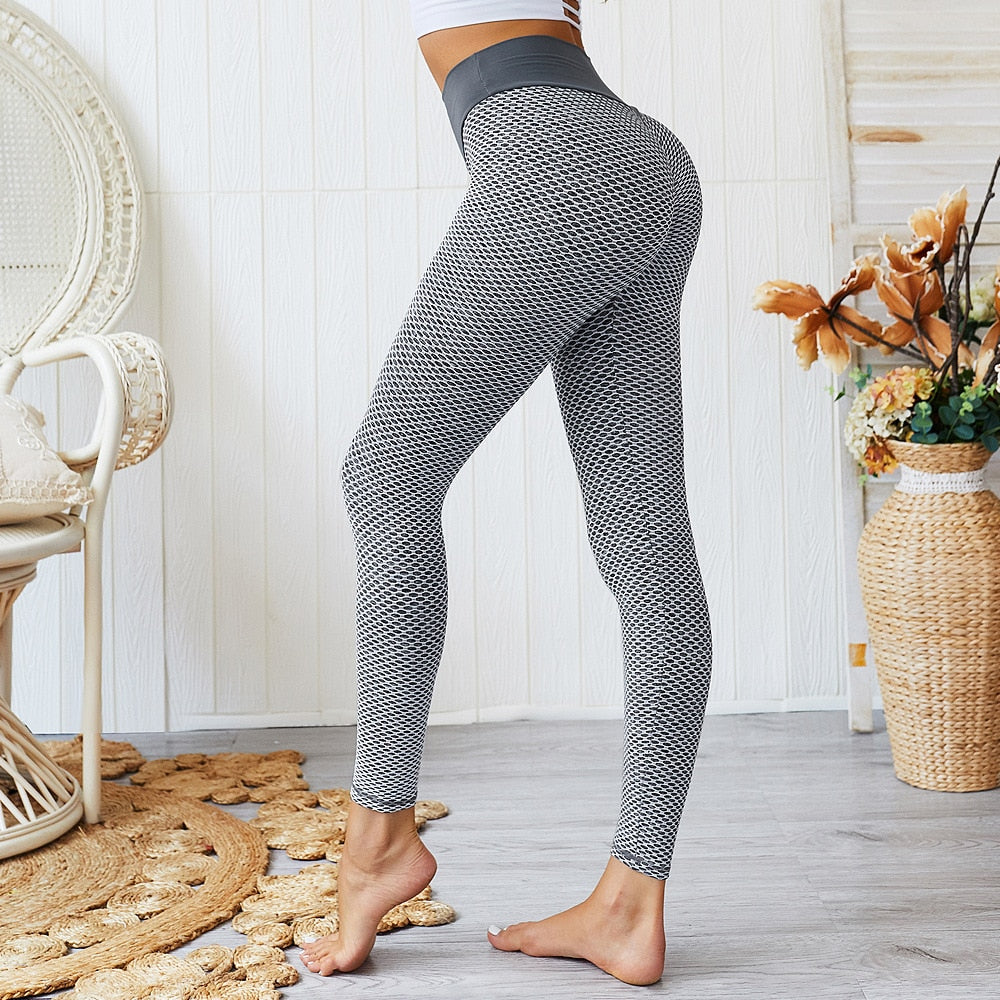 Seamless Sexy Push Up High Waist Activewear Leggings for Women