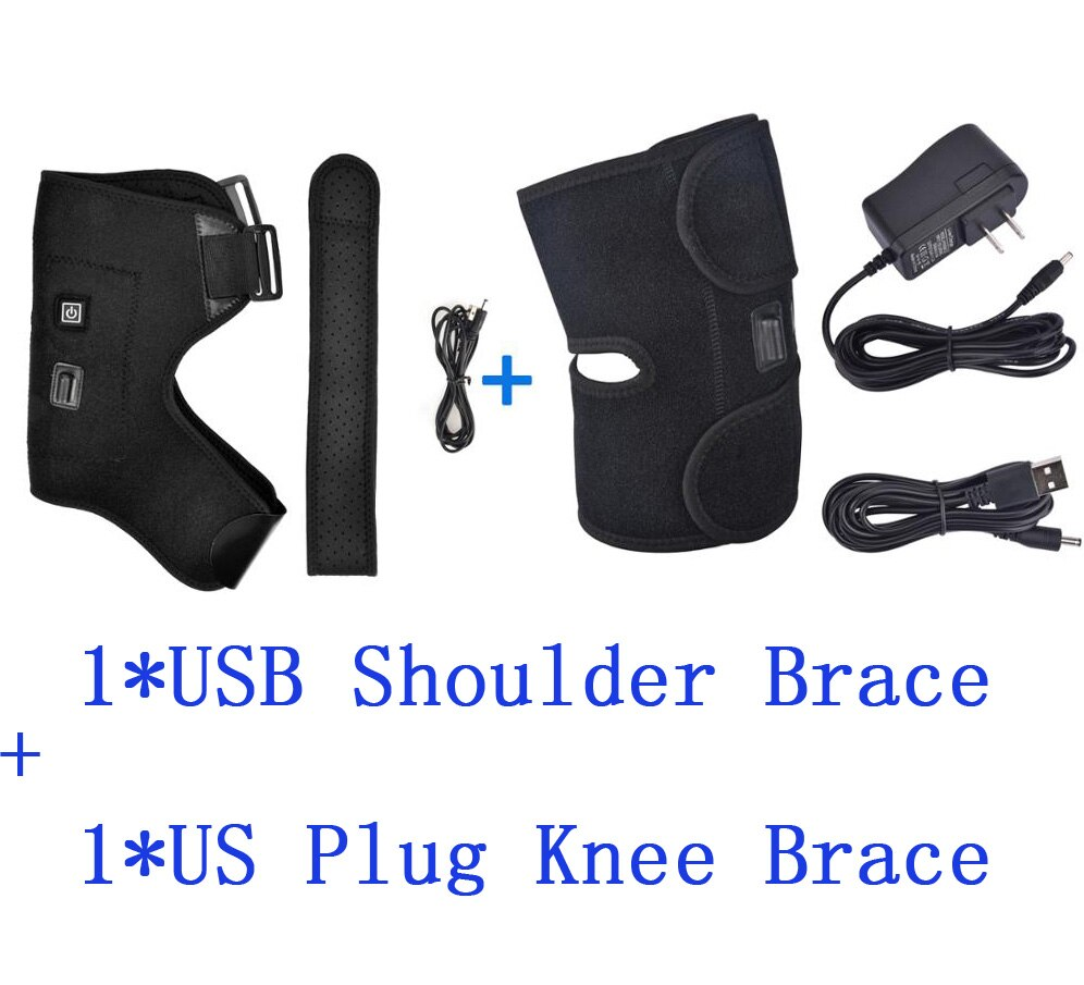 Hot Compress Joint Therapy Rehabilitation Pain Relief Support Brace