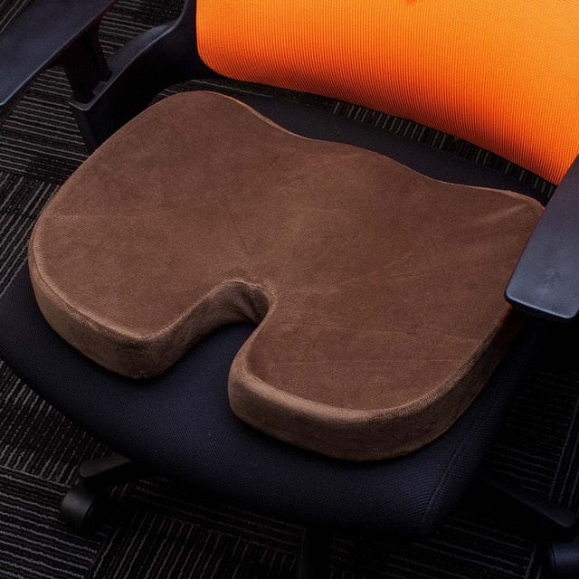 Memory Foam U Seat Massage Chair Cushion Pad for Car
