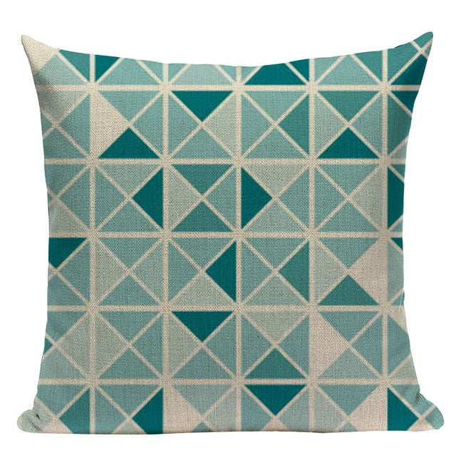 Nordic Pop Geometry Cushion Cover for Home Decoration