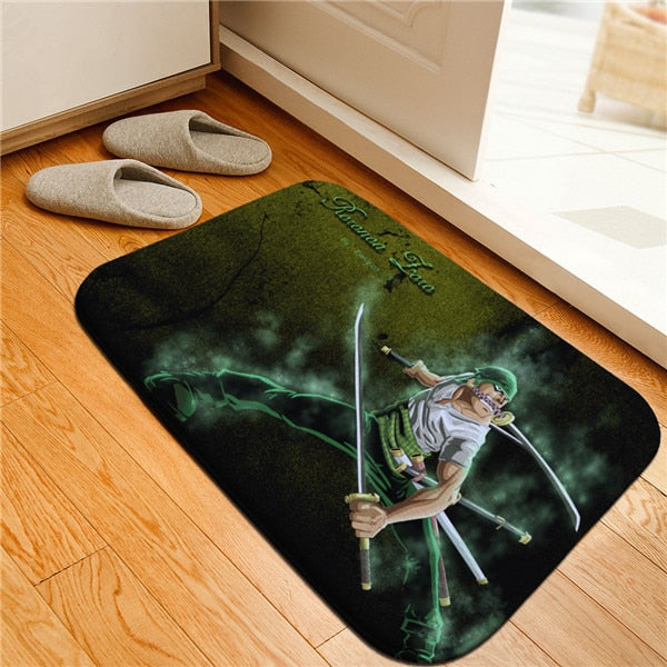 Cartoon Design One Piece Printed Floor Mat for Home