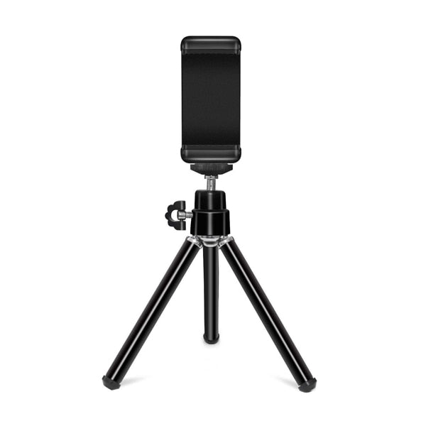 Extentable Desktop Mini Phone Tripod for iPhone Samsung Xiaomi