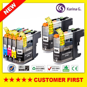 Compatible LC223  Ink Cartridge For Brtoher DCP-J562DW/J4120DW/MFC-J480DW/J680DW/J880DW/J4620DW/J5720DW/J5320DW