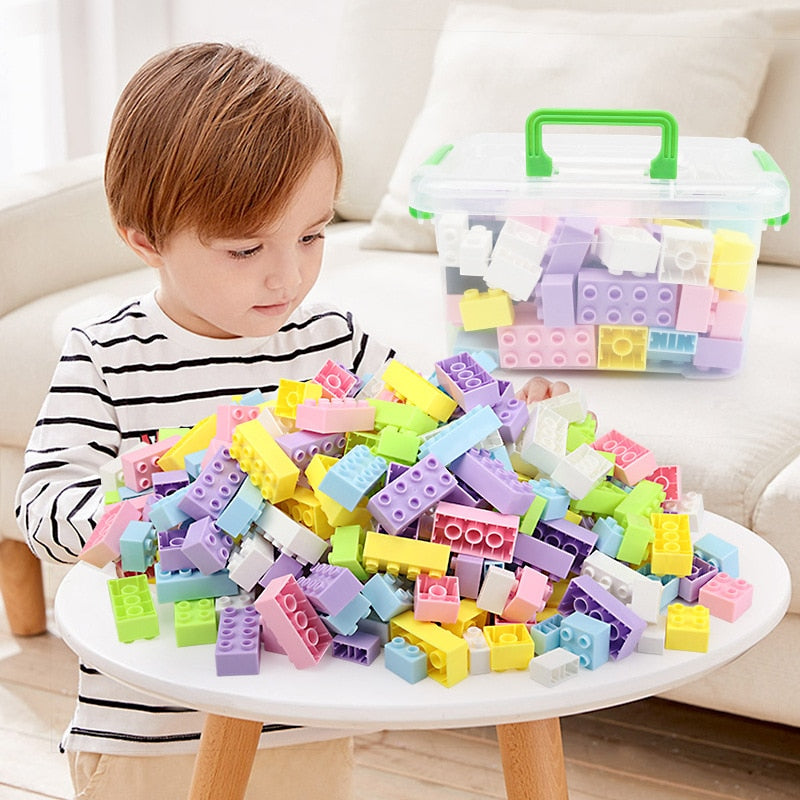 New DIY Legoing Building Blocks for Children