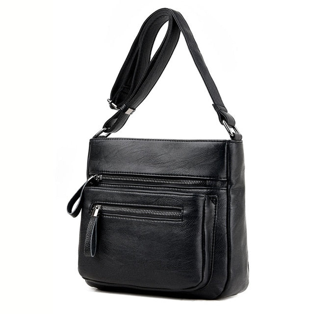High Quality Leather Crossbody Fashionable Women's Shoulder Bag