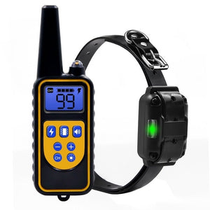 Waterproof Rechargeable Electric All Size Bark-stop Dog Training Collar