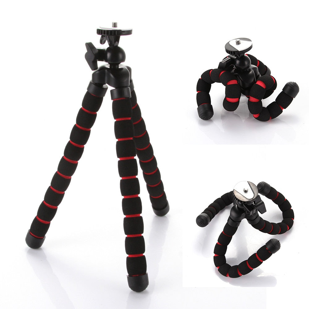 Universal Mini Octopus Flexible Portable Tripod Stand for Canon Nikon Camera