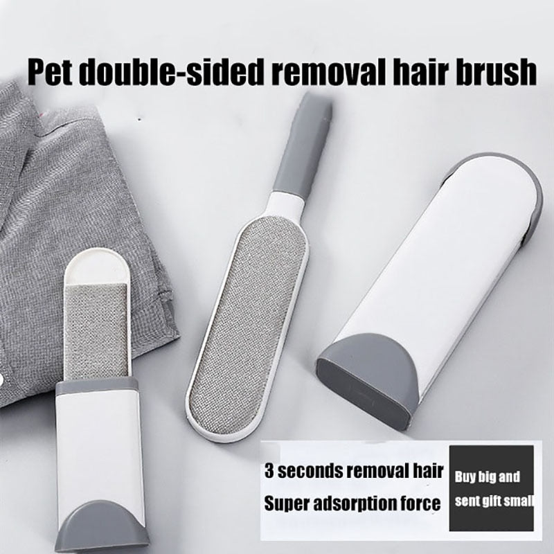 Reusable Double Sided Pets Hair Remover Static Brush