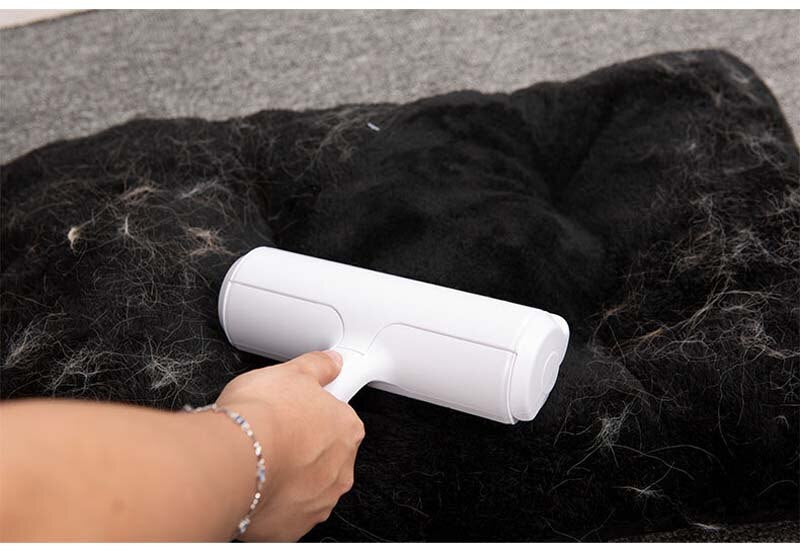 Portable Lint Sticking Roller Lint Remover Cleaning Brush for Pets