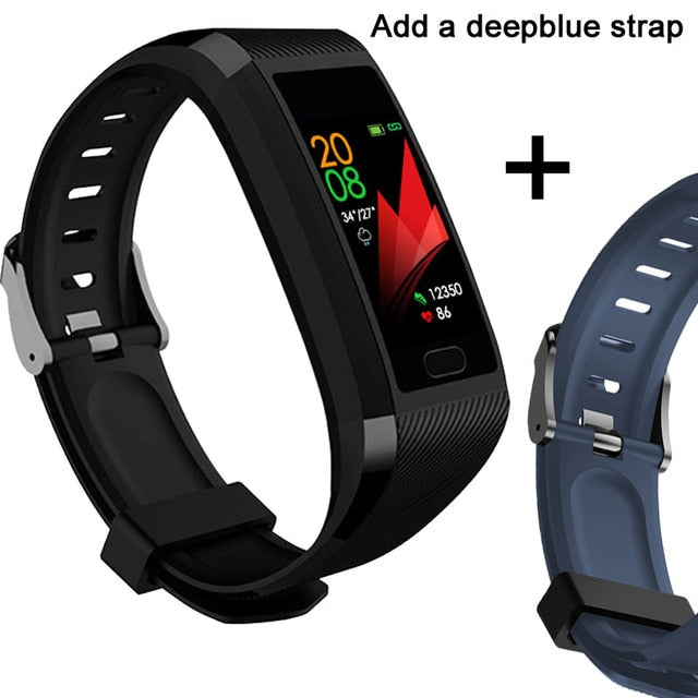 Waterproof Smart Blood Pressure Monitor Wristband for Women and Men