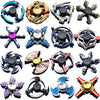 Zinc Alloy Metal Tri Fidget Hand Spinner Finger Focus Toys For Kids