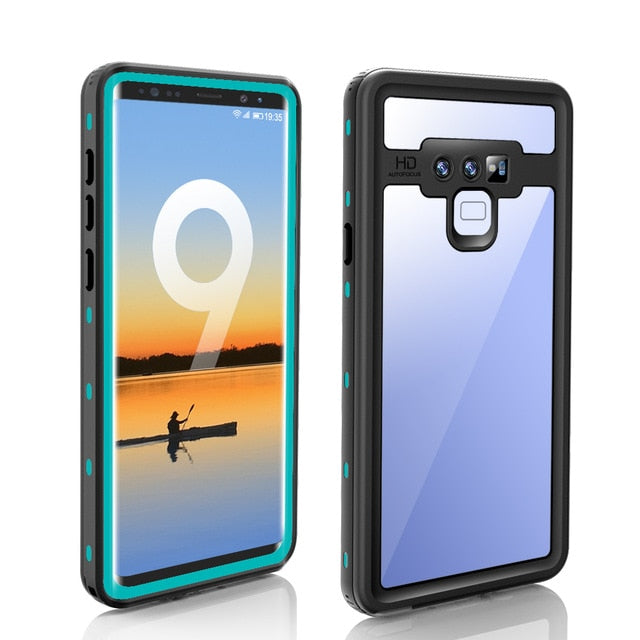 High Quality Waterproof Phone Case for Samsung Galaxy S10 Plus S20 Ultra S10E S9 S8 Note 8 9 10