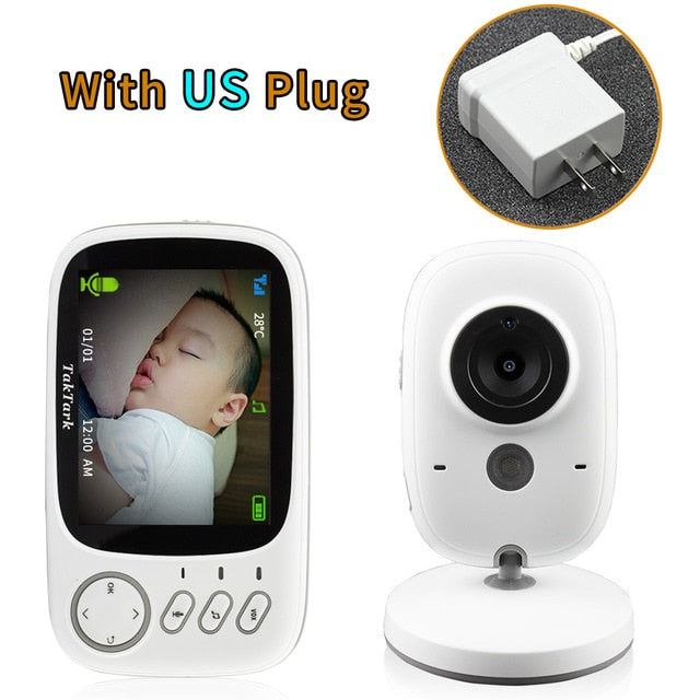 Hot Selling 3.2 inch Wireless High Resolution Video Color Baby Monitor Security Camera