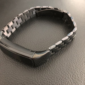 Stainless Steel Metal Watch Band for Huawei Honor Band 4 5