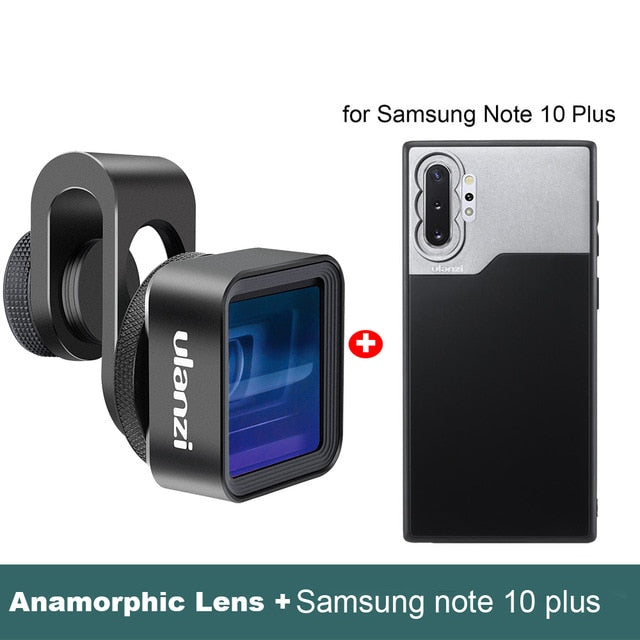 Wide Screen Video 1.33X Universal Anamorphic Lens For iPhone 11 Pro