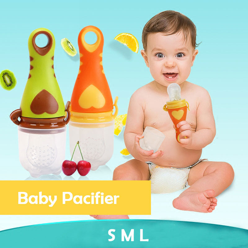 Heart-Shaped Safe 1Pc Fresh Food Baby Pacifiers