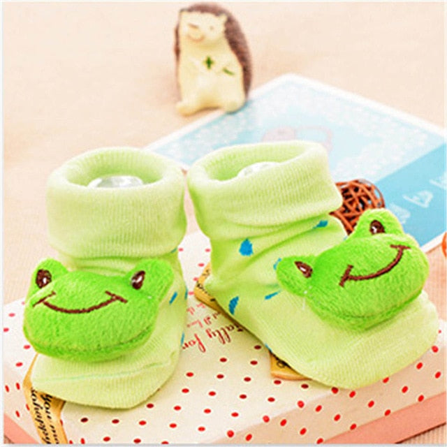 Anti Slip Lovely Animal Cartoon Baby Cotton Socks For Newborn