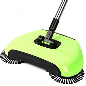 Push Hand Type Stainless Steel Sweeping Machine for Household Cleaning