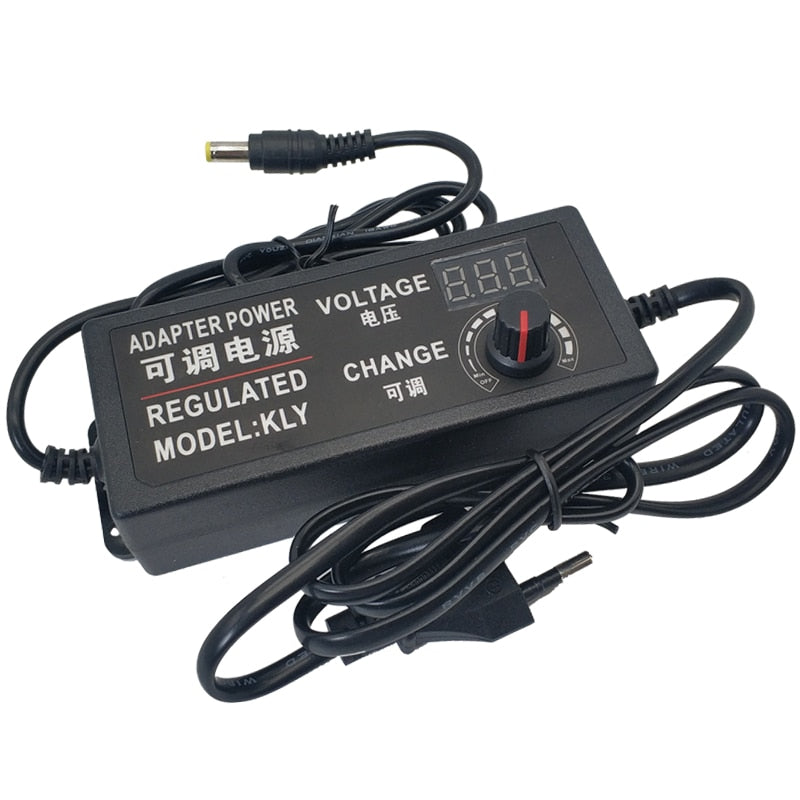 Adjustable Universal AC To DC 3V 5V 6V 9V 12V 15V 18V 24V Power Supply 220V To 12V Adapter