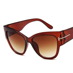 New UV400 Fashion Brand Designer Cat Eye Women Sunglasses