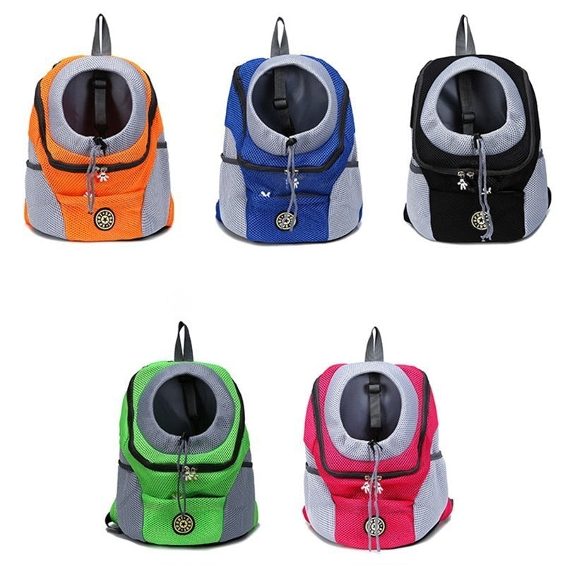Comfortable Breathable & Durable Padded Shoulder Small Dog Backpack Carrier for Travel
