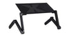 Portable Adjustable Aluminum Laptop Desk Stand for Working Office PC Riser Bed Sofa