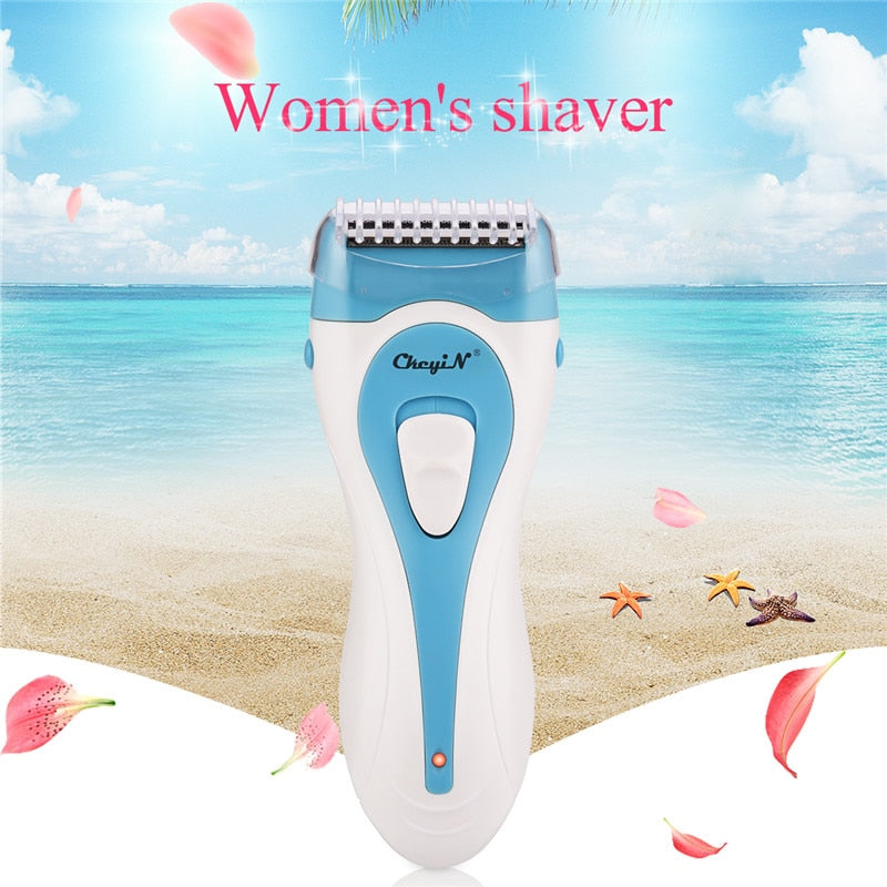 Rechargeable Waterproof Women Body Hair Removal Trimmer