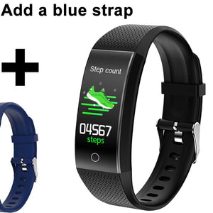 Smart Band Body Temperature Blood Pressure Fitness Tracker