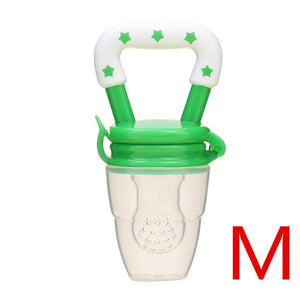 Baby Nipple Fresh Food Nibbler Pacifiers Feeder for Kids