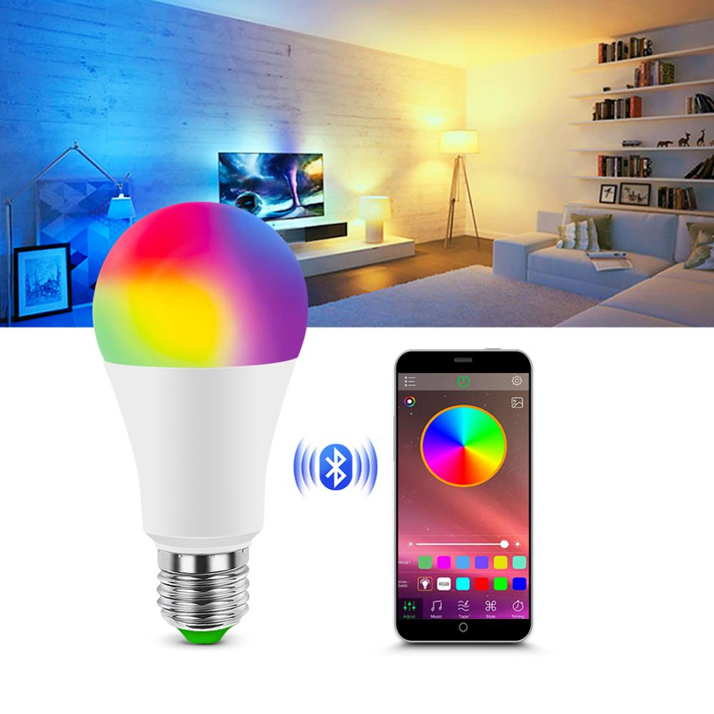 Bluetooth 4.0 APP Control Smart Life Dimmable LED Smart Neon Light Lamp