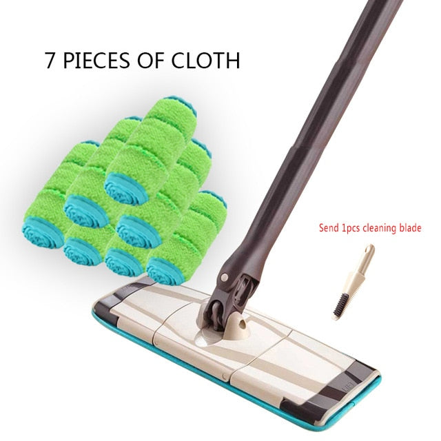 Free Hand Washing Stainless Steel Spin Mop for Home & Office Cleaning
