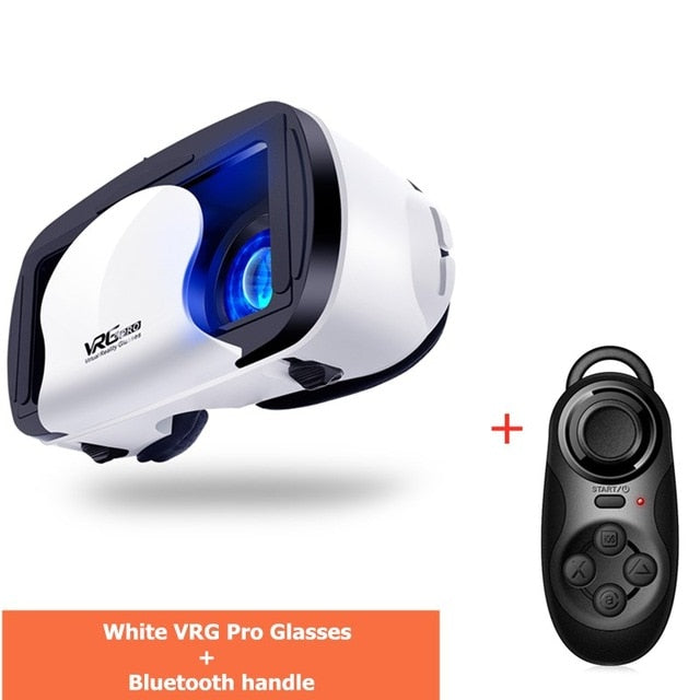 Full Screen Visual Wide-Angle VR Glasses Box For 5 to 7 inch Smartphones
