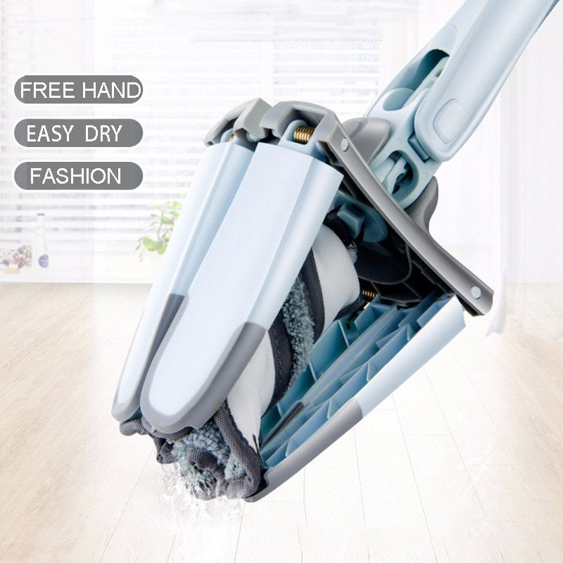 X-type 360 Degree Cleaning Easy Rotating Mop for Washing Floor