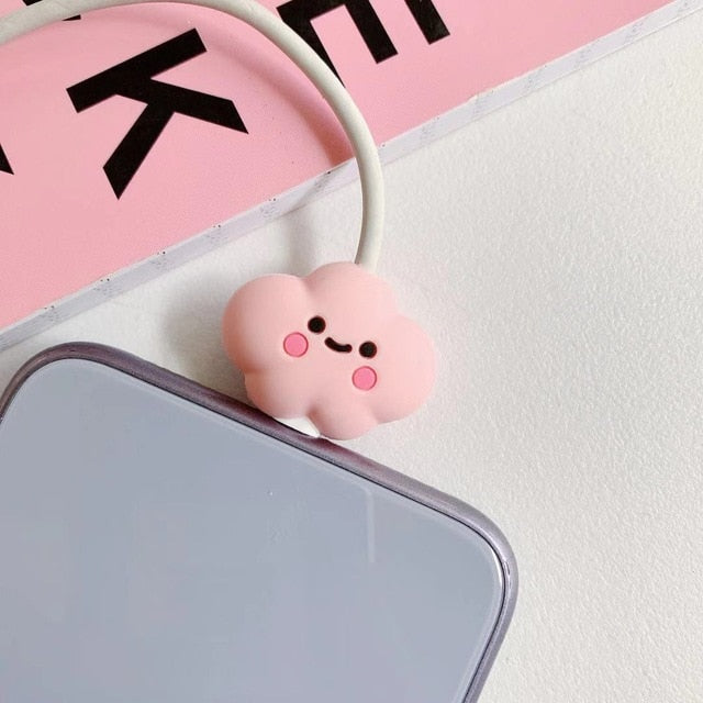 NEW 1PC Cute Cartoon Animal Cable Protector for iPhone ...