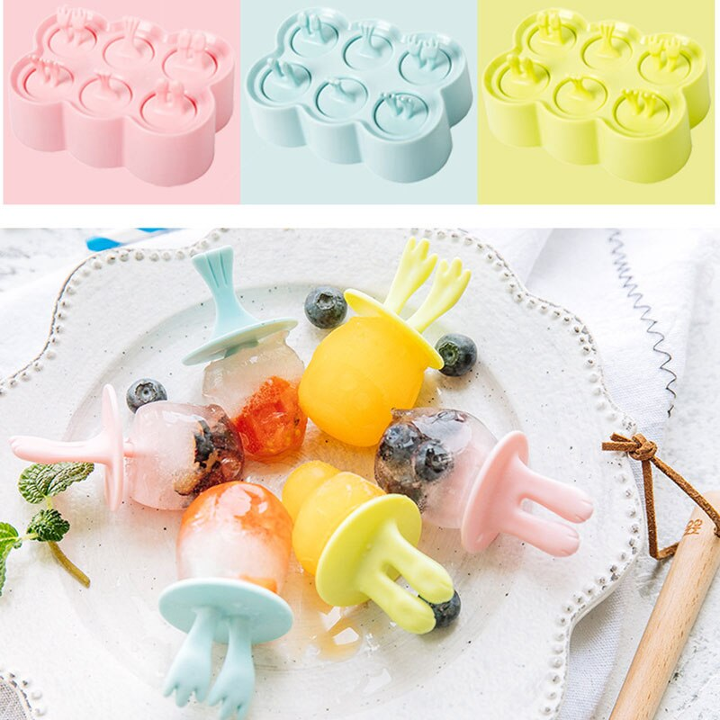 Creative Silicone Mini Ice Cream Maker