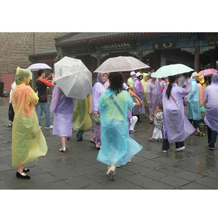Emergency Waterproof Disposable Raincoat for Adults