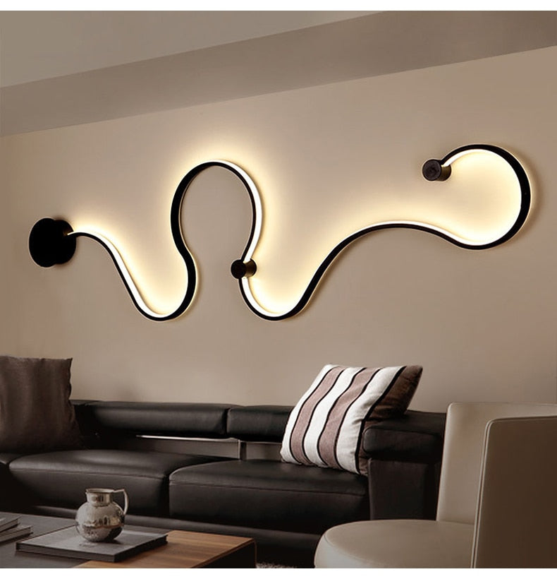 Novelty Surface Mounted Modern LED Ceiling Lights For Living Room & Bedroom