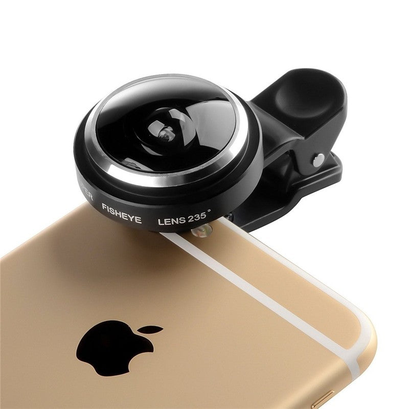 Universal 235 Degree Super Fish Eye Camera Lens For Apple iPhone Samsung Xiaomi Huawei