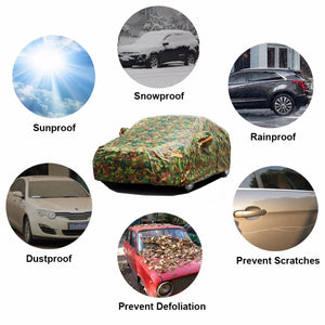 Waterproof Outdoor Sun Dust Rain Snow Protective Car Cover