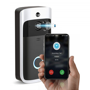 Smart Wireless Intercom Ring WiFi Video Doorbell With Camera