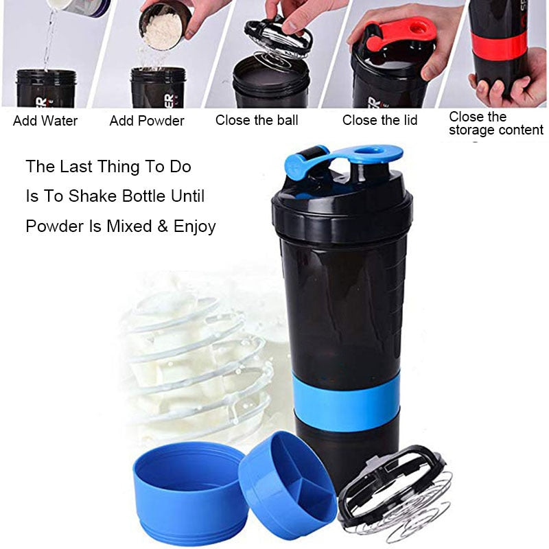 Hot Selling Protein Powder Shaker Bottle