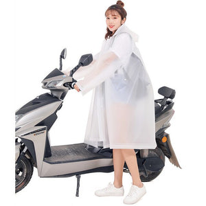 3 in 1 Fashionable Ladies Hooded Women Raincoat for Outdoor