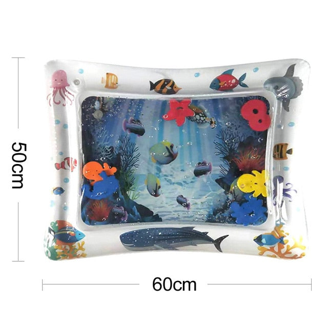 Inflatable 37 Designs PVC Infant Fun Activity Water Play Mat