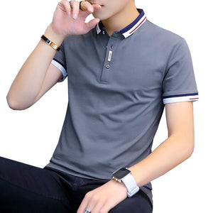 Short Sleeve Summer Casual Polo Shirt for Men