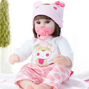 Fashionable Soft Silicon Reborn Baby Dolls For Children
