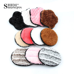 Soft Natural 3PCS Makeup Removal Cotton Flapping Sponge Puff