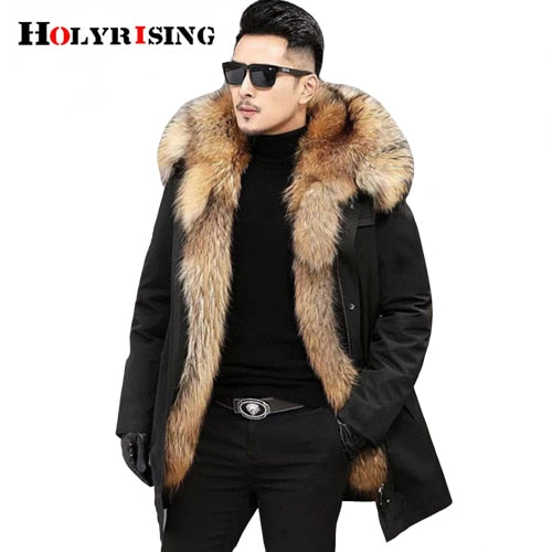Winter Thick Cotton Coat for Men