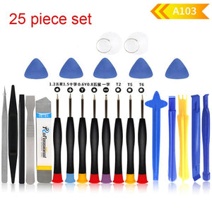 20 in 1 Mobile Phone Repair Tools Cell Phone Opening Pry Repair Kits for Samsung Xiaomi iPhone
