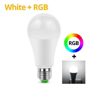 15W Bluetooth App Control LED Light Smart lamp Compatible With Android /IOS System DIY Smart Life Home Lighting